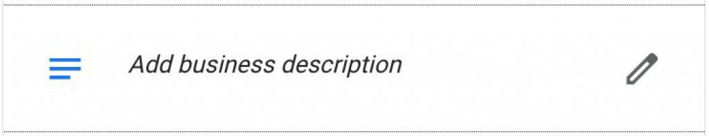 Add Business Description Inside Google My Business