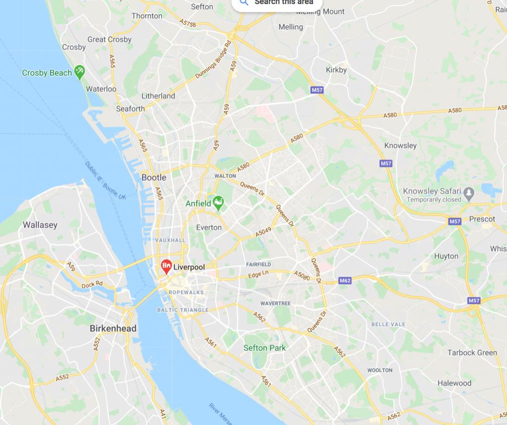 Local SEO Liverpool Areas